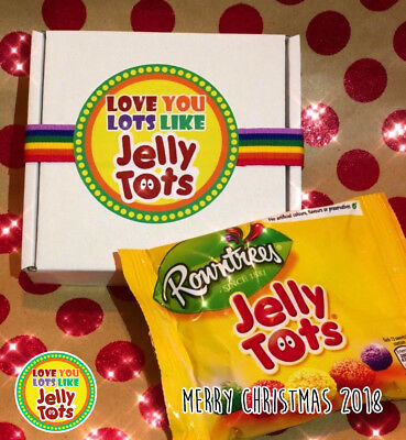 Love You Lots Like Jelly Tots boxed Personalised Birthday | Mothers Day Gift
