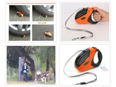 Dog Retractable Leads for Large Breed Heavy Duty Smooth Extending 110 Pounds Fit