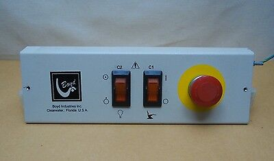 Master Control Panel For Boyd Dental Model S-2615 Oral Surgery Chairs