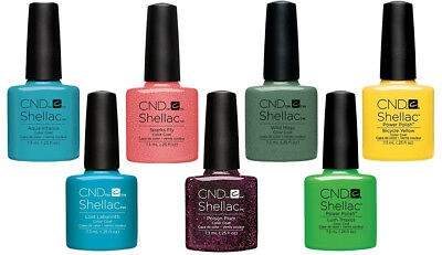 New Genuine Boxed* CND Shellac Nail Polish | More Shades Added | UK Seller :)