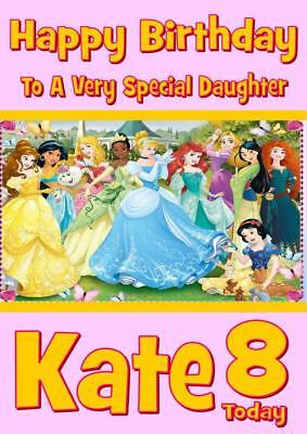 WIZARD OF OZ b classic disney PERSONALISED BIRTHDAY CARD ANY NAME AGE RELATION