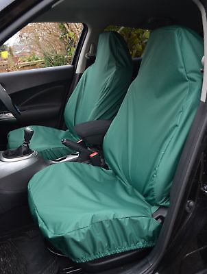 Peugeot Boxer07> Motor Home Heavy Duty Waterproof Green Seat Covers 1+1