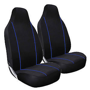 Fiat Ducato 1991-1994 Deluxe Blue Piping Car Seat Covers 1+1