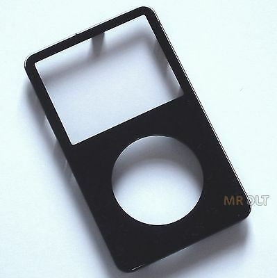 NEW Black iPod Video 5th Gen Generation Front Cover 30GB 60GB 80GB - UK Seller