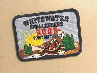 BSA watewater challengers, 2003, scout raft rally