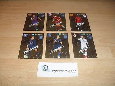 6 CARTES NEUVES PANINI ADRENALYN XL FIFA 365 2018 éDITION LIMITED