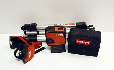 HILTI PMC 46 Full Solution Combination Laser Mount PMA78 Tripod MPA20 Pre-Owned