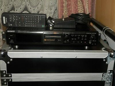 Sony Mds-Je500 Minidisc Player/recorder With Footswitch & Remote