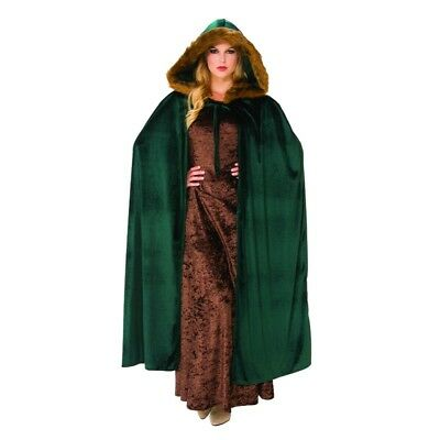 Woodland Green Hooded Cape, 820979, Rubies