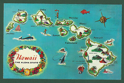 Hawaii US States Cities Towns Postcards Collectibles PicClick