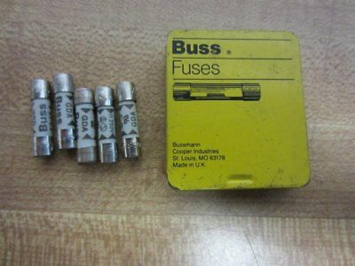 3-15/100A Fast Acting Cylindrical Fuse 5PK 250VAC