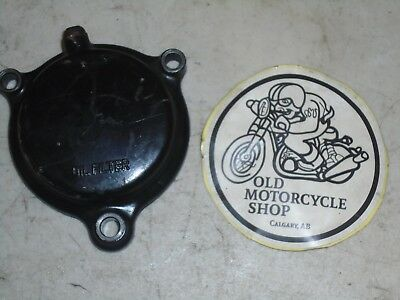 1981 Yamaha Xt500 Oil Filter Cover