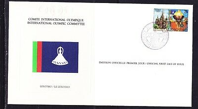 Lesotho 1980 Olympic Games Souvenir Cover