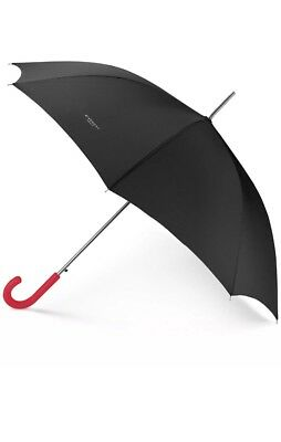 GIVENCHY PARFUMS BLACK LOGO large LONG BIG jumbo GOLF UMBRELLA NEW AUTHENTIC