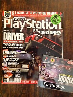 Official Playstation Magazine UK INCLUDING DISC Issue #44 April 1999