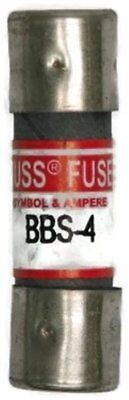 4A Fast Acting Cylindrical Midget Fuse 600VAC