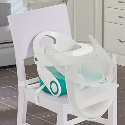 Summer Infant Sit 'n Style Compact folding booster seat high chair plastic