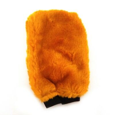 Yellow Car Washing Glove Cleaning Mitt Car Care Polishing Mitts Gloves Cloth
