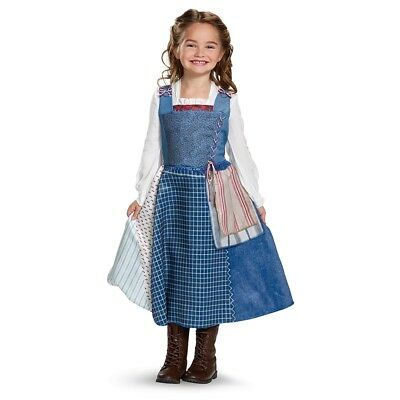 Belle Deluxe Village Dress Child Costume, 20847, Disguise