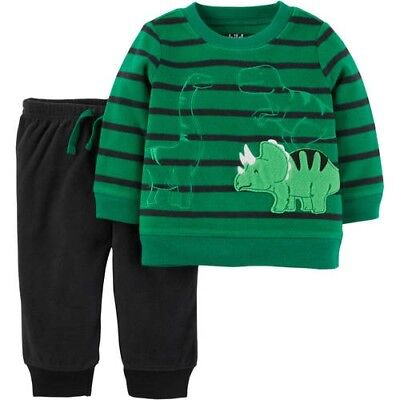 727589b31 CHILD OF MINE by Carter's Newborn Baby Boy Long Sleeve Shirt and Pant Set  6-9 Mo - $7.99 | PicClick