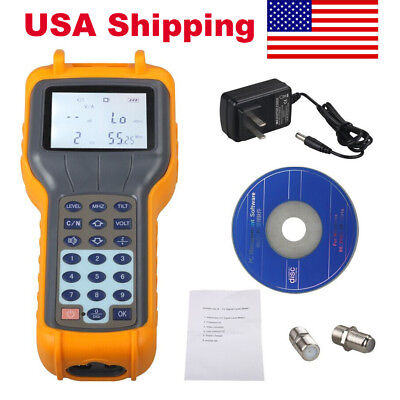 USA Ship RY S110 CATV Cable TV Handle Digital Signal Level Meter DB Best Tester