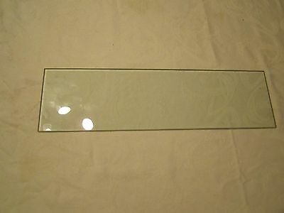 Clear Glass Shelf - 5 in deep x 18 in wide - Pane with Beveled Edge