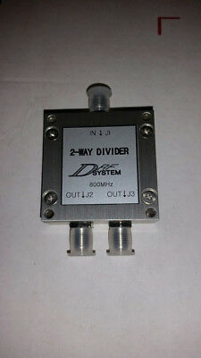 Power Divider SMA 2-Way - DRF System 800MHz: US Stock