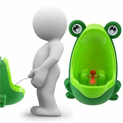 2018 Frog Potty Training Urinal for Kids Boys with Funny Whirling Target -Green