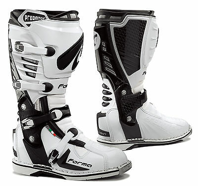 Forma Predator motocross boots, mens, all sizes, motorcycle, pro, mx, offroad