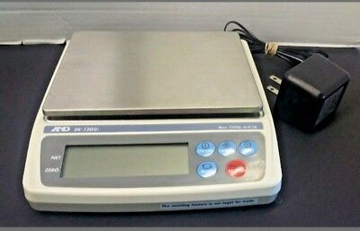A&D EK 1200i Gold Jewelry Compact Scale
