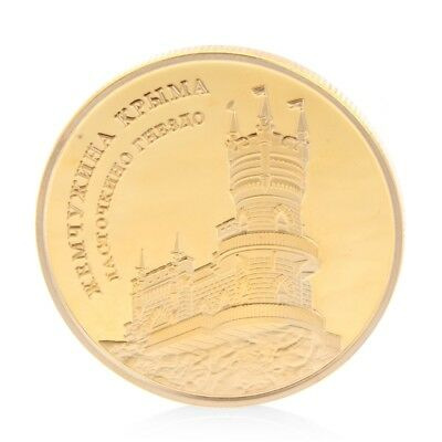 Castle Commemorative Coin Copper Collection Souvenior With Zinc Alloy Gifts New