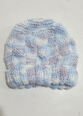 Knitted baby hat  newborn