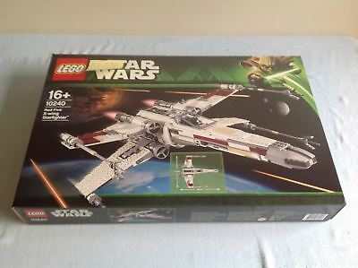 Lego StarWars UCS 10240 Red5 X-wing Starfighter New/Sealed/Retired*Free Shipping