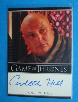 2013 *GAME Of THRONES* Season 2 AutoGraph/Auto Card *Conleth HILL as Lord VARYS*
