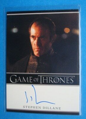 2013 *GAME Of THRONES* Season 2 AutoGraph/Auto Card *Stephen DILLANE as STANNIS*