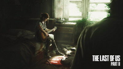 "008 The Last of Us 2 - Zombie Survival Horror Action TV Game 24""x14"" Poster"