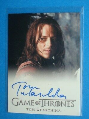 2013 GAME Of THRONES Season 2 AutoGraph/Auto Card *Tom Wlaschiha as Jaqen H'ghar