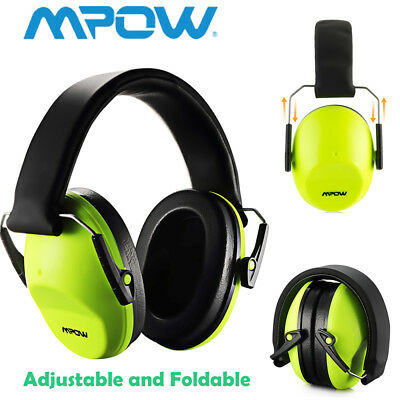 Mpow Kids Children Junior Folding Noise Ear Muffs Defenders Hearing Protectors