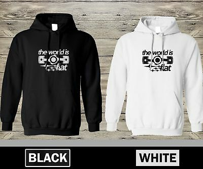 The World Is Flat Hoody Hoodie Boxer Engine Flat 4 6 12 Piston Cylinder Supercar