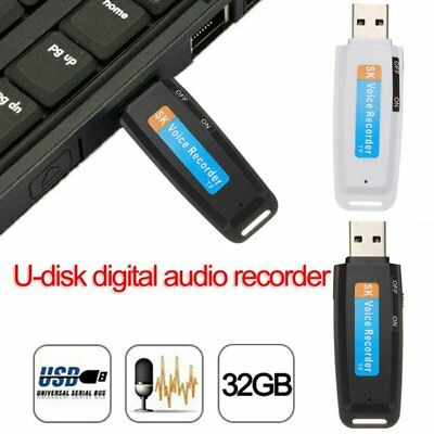 2018 New U-Disk Digital Audio Voice Recorder Pen charger USB Flash Drive OK