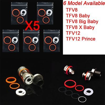 5 Sets  Parts Gaskets Kit Sealing Ring for SMOK TFV8 Baby Big Baby TFV12