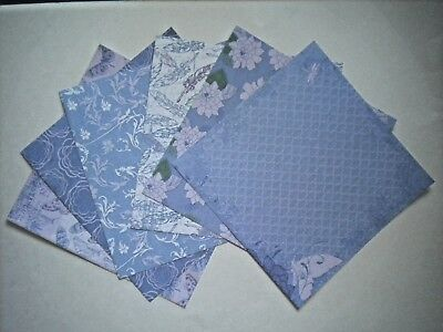 """6 SHEETS """"FOREVER IN TIME"""" PERFECT PRINTS SCRAPBOOKING PAPER #1 ~ You Choose"""