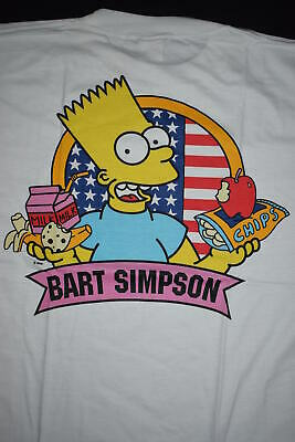 Bart Simpson T-Shirt Te Simpsons Bart Gang Way Vintage 90s 90er Milk Comic L NEU