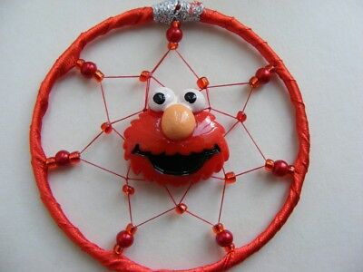 ~ Elmo ~ MINI Dreamcatcher Girls / Boys Sesame Street RED Gift Present Birthday