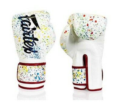 Fairtex Micro Fiber Muay Thai Boxing Gloves Painter (8,10.12,14,16oz)