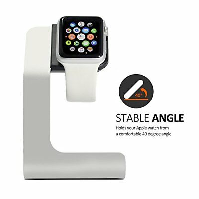 Apple Watch Charging Stand with Comfortable Viewing Angel a Must have Accessory