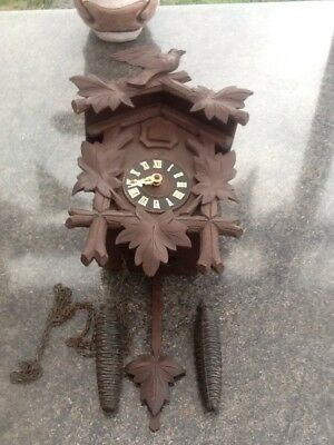 German Cuckoo Clock Black Forest? Antique Clock 8 Day Clock