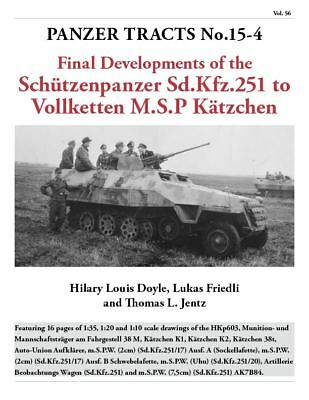 Panzer Tracts No.15-4 - Final development of m.SPW
