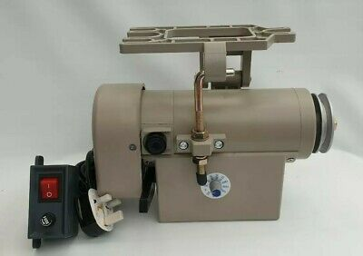 Industrial Sewing Machine Clutch Motor Mains 240v with On/Off switch & Fittings