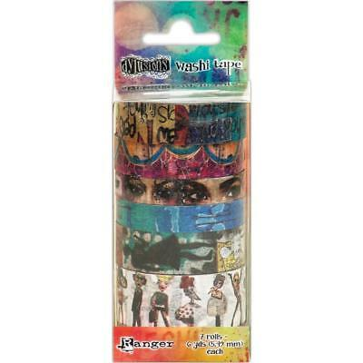 Dylusions Washi Tape - Set 2 - 7 Rolls